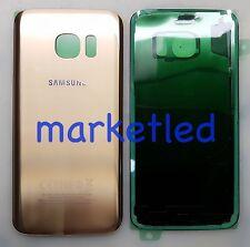 Scocca Posteriore copri batteria originale Samsung Galaxy S7 EDGE G935F GOLD