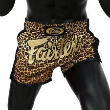 Fairtex Bs1709 Leopard Better Satin Shorts Boxing Muay Thai Slim Cut Trunks Mma