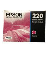 Epson DURABrite Ultra Ink T220 Ink Cartridge - Magenta - Inkjet Open Box