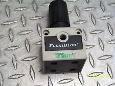 NUMATICS R22RG02P FLEXIBLOCK RELIEVING PRESSURE REGULATOR
