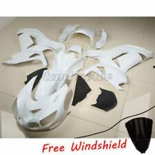 Unpainted White Fairing Bodywork Set For KAWASAKI ZZR1400 ZX-14R 2006-2011 ABS