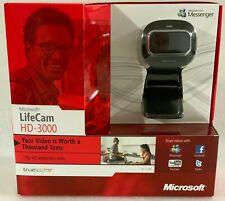 Microsoft LifeCam HD-3000 Webcam NEW SEALED