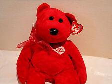 SECRET - THE VALENTINE'S DAY BEAR BUDDY - 2004 - MINT TAGS
