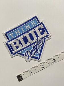 Vintage 1998 LA Dodgers Think Blue Jersey Patch - RARE!!!