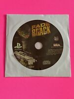🔥 SONY PS1 PlayStation One PSX 💯 WORKING GAME DISC ONLY 🔥 FADE TO BLACK