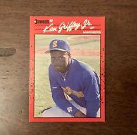 1990 Donruss Ken Griffey Jr. Seattle Mariners Baseball Card #365