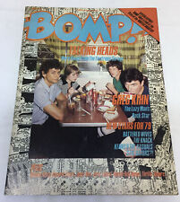 March 1979 Bomp #21 ~ Talking Heads,Greg Kihn ~ The Police bumper sticker unused