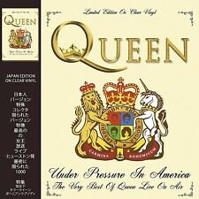 Queen - Under Pressure In America JAPAN EDITION CLEAR VINYL LP CRLVNY020