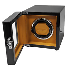 w/ Ball Bearings High Quality Winder Arcanent 1 Slot Watch Winder Black