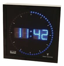 Orologio LED da Parete Digitale Nero HE-CLOCK-27 456434