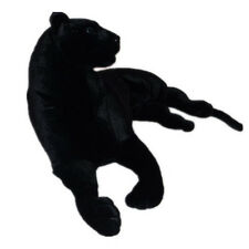 51inch Cute Stuffed Plush Domineering Emulational Animal Panthers Leopard Toy