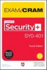 Exam Cram Ser.: CompTIA Security+ SY0-401 Authorized Exam Cram by Diane...