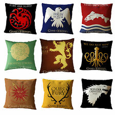 Game of Thrones Kissenbezüge Kissenbezug Kissenhülle Sofakissen Hülle Home Dekor