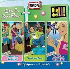 3 CDs * DIE DREI !!! (AUSRUFEZEICHEN) - BOX 5 - FOLGEN 13 - 15 # NEU OVP =