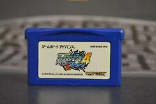 ROCKMAN EXE 4 (MEGA MAN) GAME BOY ADVANCE JAP JP JPN GBA GAMEBOY
