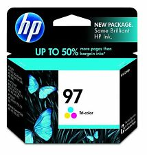 HP OEM 97 Tri-Color Ink Cartridge for Photosmart, Officejet, Deskjet Printers