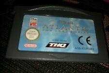 Atlantis El Imperio Perdido Nintendo Game Boy Advance Sp Ds Lite Juego GBA MICRO