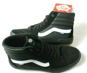 Vans Sk8-Hi Pro BMX Black White Classic shoes Waffle Cup Cushion Size 8.5 NEW