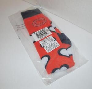 NIB Women's NFL Chicago Bears Heart Print Knee-High Socks Size 6-11