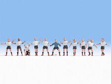 * Noch Scala N 36965 Set Calciatori, Squadra 11 pezzi + Pallone Nuovi