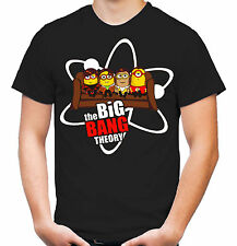 Big Bang Minions Sofa T-Shirt | Theory | Bazinga | Sheldon | Minion - schwarz |