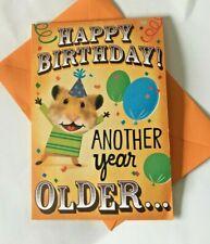 Hallmark Birthday Card ~ MUSIC + POP UP ROCKIN CUPCAKE BIRTHDAY ~ Hamster