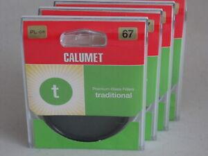 67mm - Calumet Circular Polarizer Filter Made by Hoya., CPL          #67m8n10/