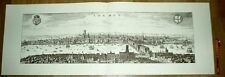 London alte Ansicht Merian Druck Stich 1650 (schw)