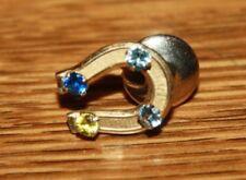 1.2 Grams Free Shipping 12K Gold Horseshoe Pin