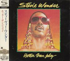 "Stevie Wonder SEALED BRAND NEW SHM-CD ""Hotter Than July"" Japan OBI"