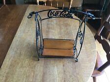 Coca Cola Coke Miniature Swing Doll Size Metal Wood 1999