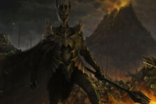 Dark Lord of the Rings Lotr Sauron Hobbit Art Wall Room Poster - Poster 24x36