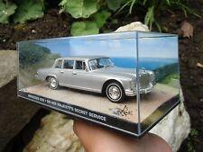 007 JAMES BOND Mercedes Benz 600 - Majesty´s Secret Service 1:43 BOXED CAR MODEL