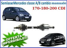SEMIASSE NUOVO SX CLASSE A B 170 180 200 CDI CON CAMBIO MANUALE
