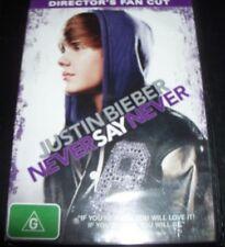Justin Bieber Never Say Never (Director's Fan Cut) (Aust Region 4) DVD – New