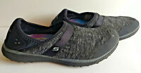 Shoes SKECHERS Slip ons Womens Size 10 Gray Burst 23303 Air Cooled Memory Foam
