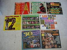Lot de 7 LP + 1 Jaquette offerte- Chansons et photos de JOHNNY HALLYDAY