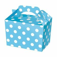 6 x Party Boxes For Kids Food Loot Lunch Gift HAPPY BIRTHDAY LUCKY BOX BAGS FOR