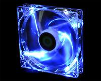 [ID-COOLING] AL-12025 B Blue LED Lighting & Low Noise 120mm Cooling Fan, 3pin