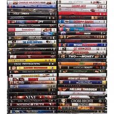100 Dvd Movies Lot Assorted Wholesale Bulk Used Dvds 100 All Movies $1K Retail!