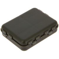 Fishing tackle bit box - multiple compartments ideal for hooks swivels clips