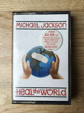 Michael Jackson Heal The World Cassette Tape Single (B: She Drives Me Wild)