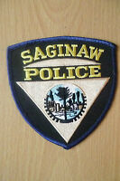 Patches: SAGINAW USA POLICE PATCH (NEW* apx.10x10 cm)