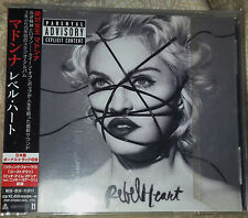 MADONNA REBEL HEART DELUXE CD MADE IN JAPAN BONUS TRACK 2015 MINT NUOVO