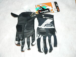 Arctica Comp RR, Mens Small, B&W Snowmobile Skiing Winter Sled Snowboard Gloves