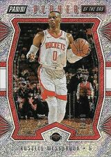 19/20 Panini Player Of The Day Shimmer #9 Russell Westbrook #72/99