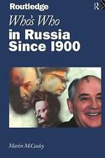 Who's Who in Russia since 1900-ExLibrary