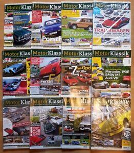 Motor Klassik Jahrgang 2012 komplett Hefte 1-12 Zeitschrift Automobile Oldtimer