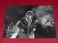 PHOTO VINTAGE SPECTACLE PATRICK SEBASTIEN ANNEES1980 Argentique 24X18 GAINSBOURG