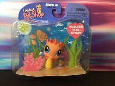 Littlest Pet Shop Target exclusive Single Orange Yellow Seahorse Blue eyes #315